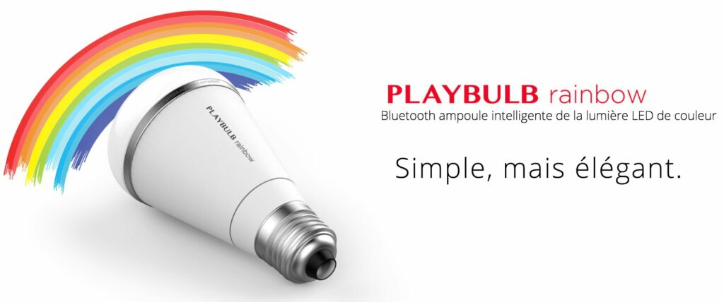 PLAYBULB rainbow - Smart LED de couleur Light-ampoule