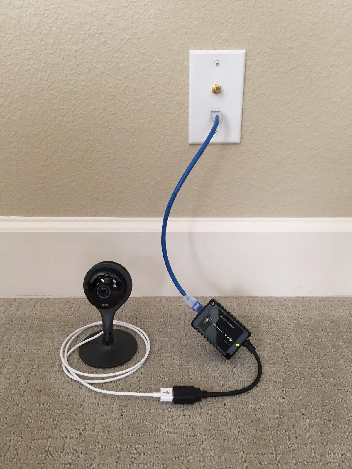 La Nest Cam indoor est une caméra filaire