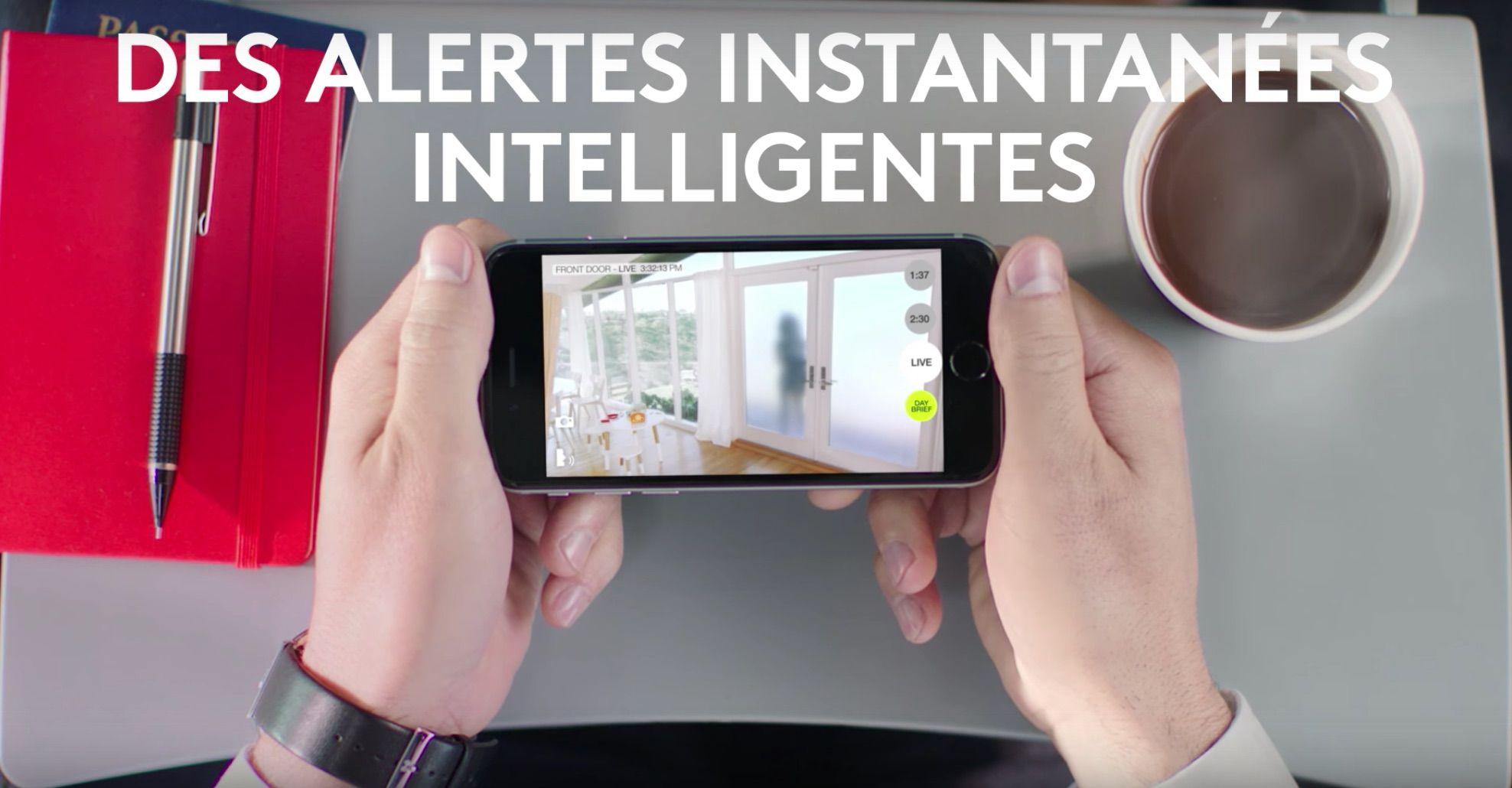 Caméra sans fil HD Logitech Circle : surveillance et sécurite assuree