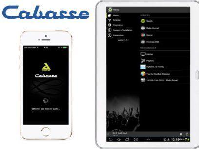 Application Android/iOS de contrôle du Cabasse Stream AMP 100