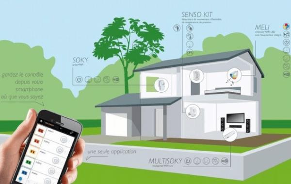 Grâce à l'application Android/iOS il est possible de contrôler tous les 4 appareils de la gamme Extel