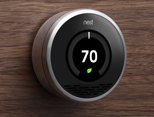 Thermostat crée par Tony Fadell