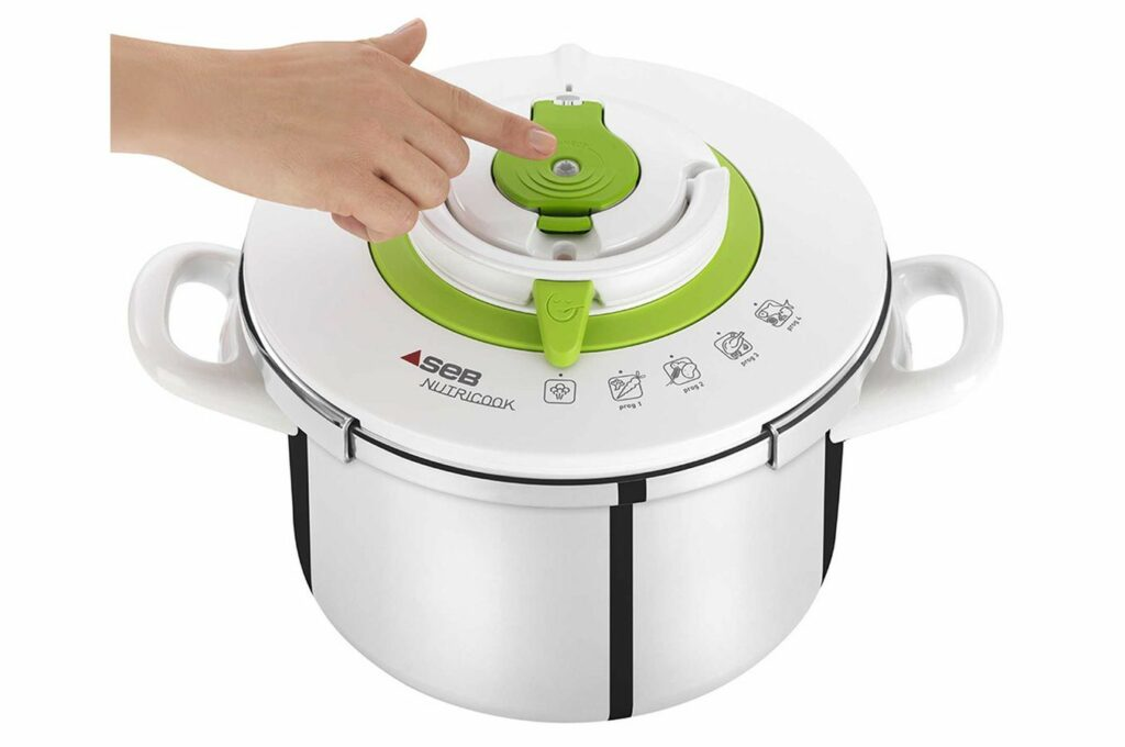 Autocuiseur connecté Nutricook Connect Inox : le compagnon idéal pour une cuisson parfaite