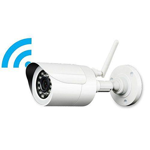 Caméra connectée e-Tiger de couleur blanche