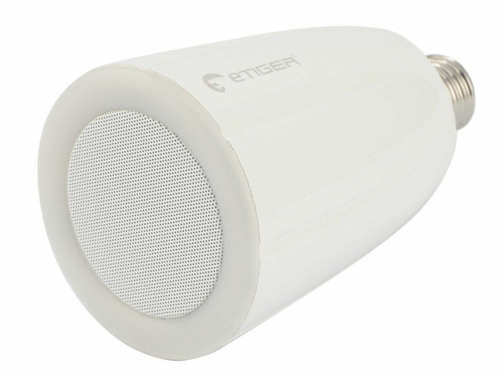 Ampoule enceinte connectée de marque E-Tiger A0 intelligent