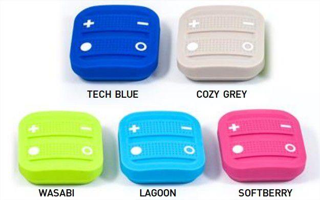 Les différents couleurs de la télécommande EnOcean de NodOn