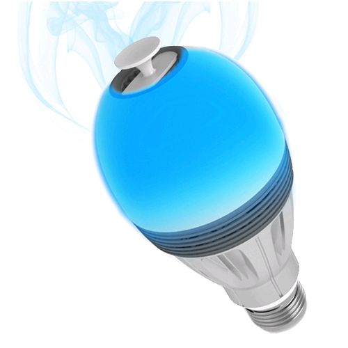 Ampoule connectée color diffuseur d'huiles essentielles Aromalight Awox AL-BC7 : Design