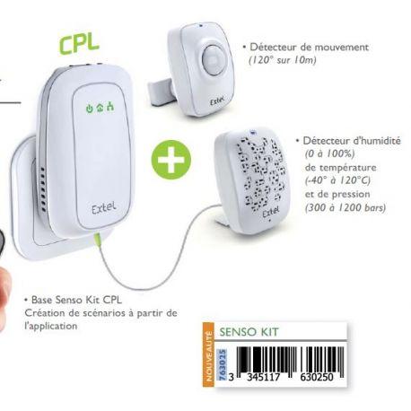 SENSO KIT Extel détecteur de mouvement connecté