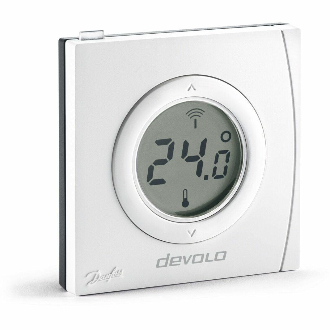 devolo home control 9517 le thermostat connect pour un meilleur confort. Black Bedroom Furniture Sets. Home Design Ideas