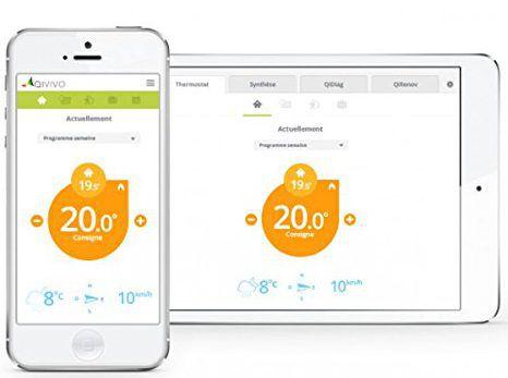 Thermostat connecté Intelligent QIVIVO V2 vous étudie