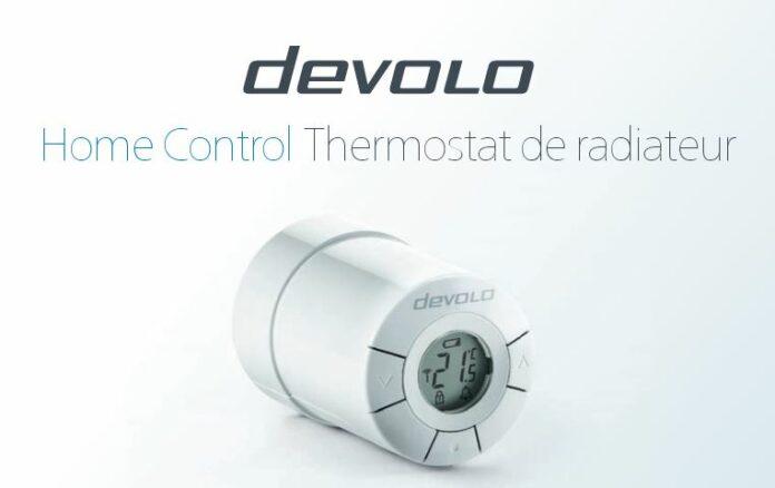 thermostat de radiateur devolo home control pour une. Black Bedroom Furniture Sets. Home Design Ideas