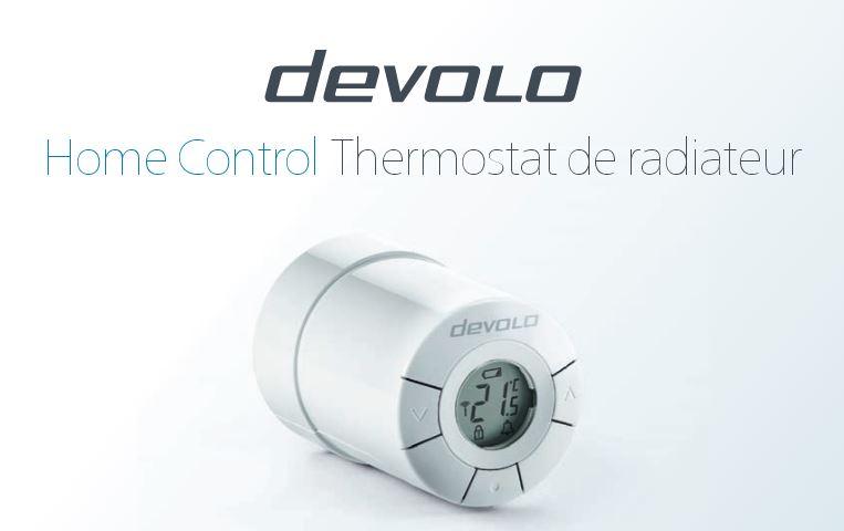 Thermostat De Radiateur Devolo Home Control Pour Une