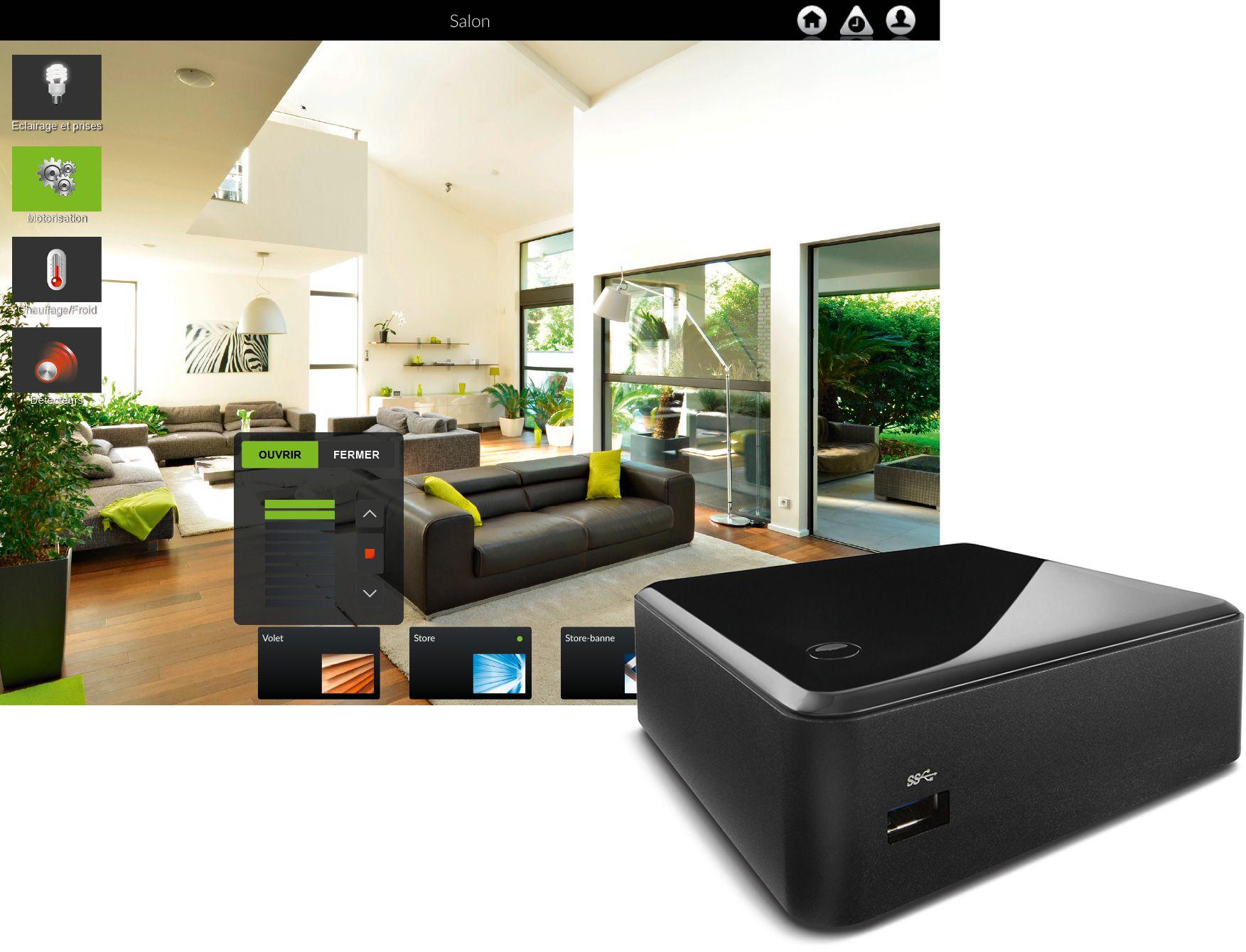 Box domotique connectée fedomus optimise votre confort
