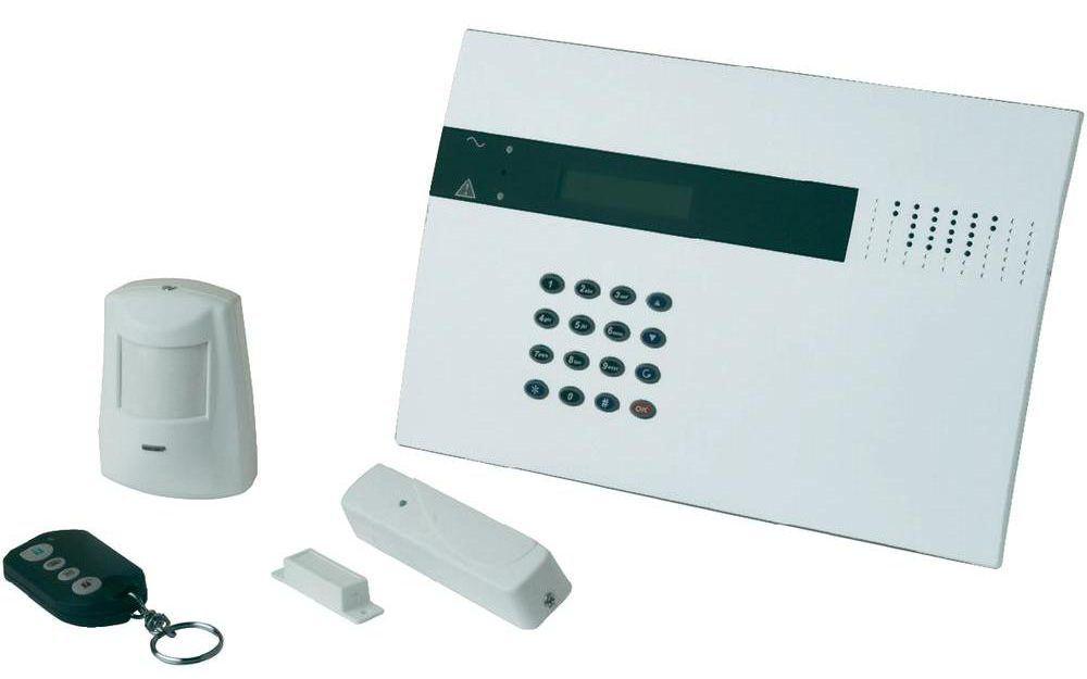 Détecteur connecté magnétique H20D et centrale HA2000