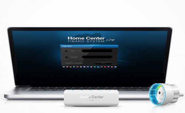 Fibaro contrôleur domotique connectée Z-Wave Home Center Lite