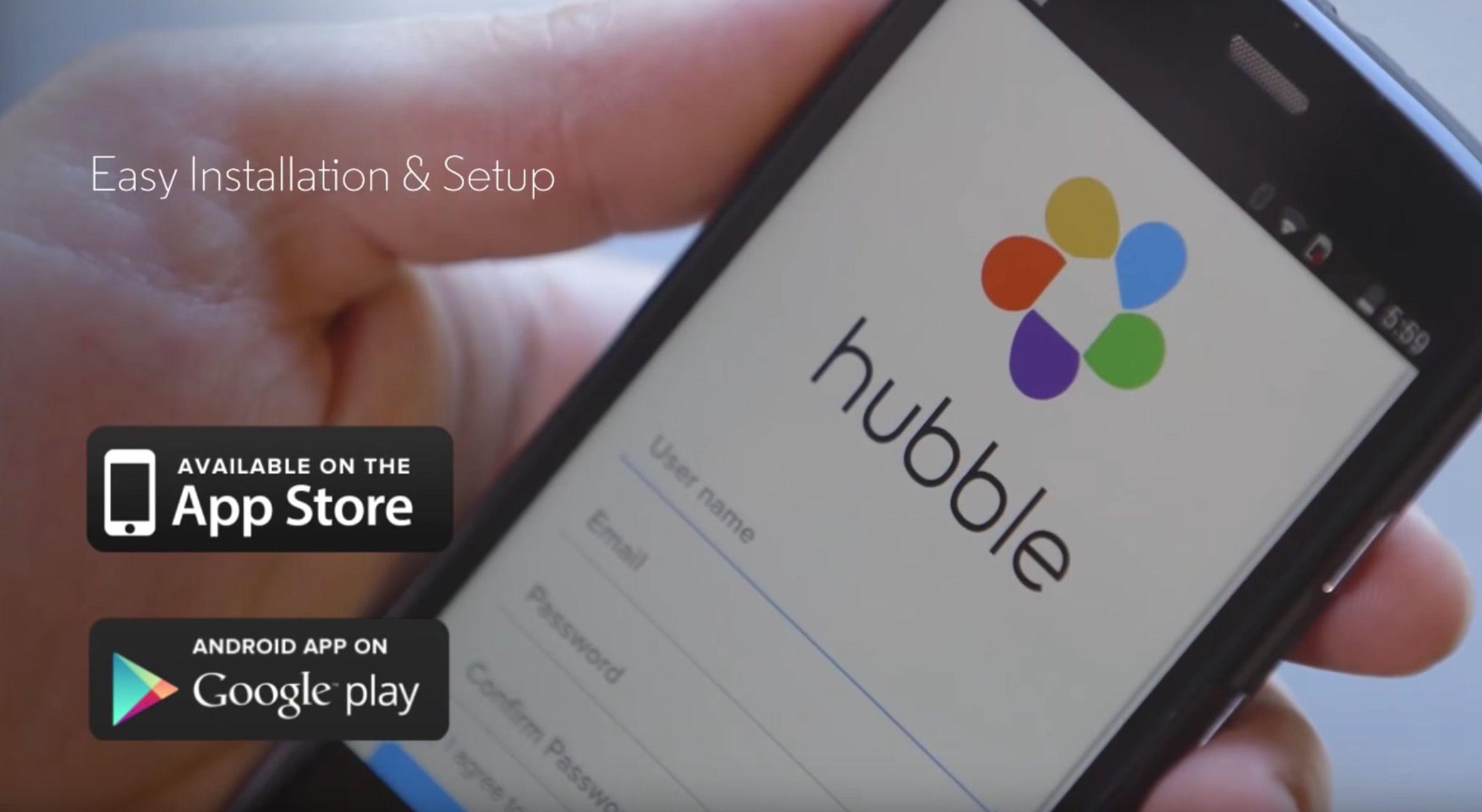 Motorola MBP85Connect WiFi application hubble