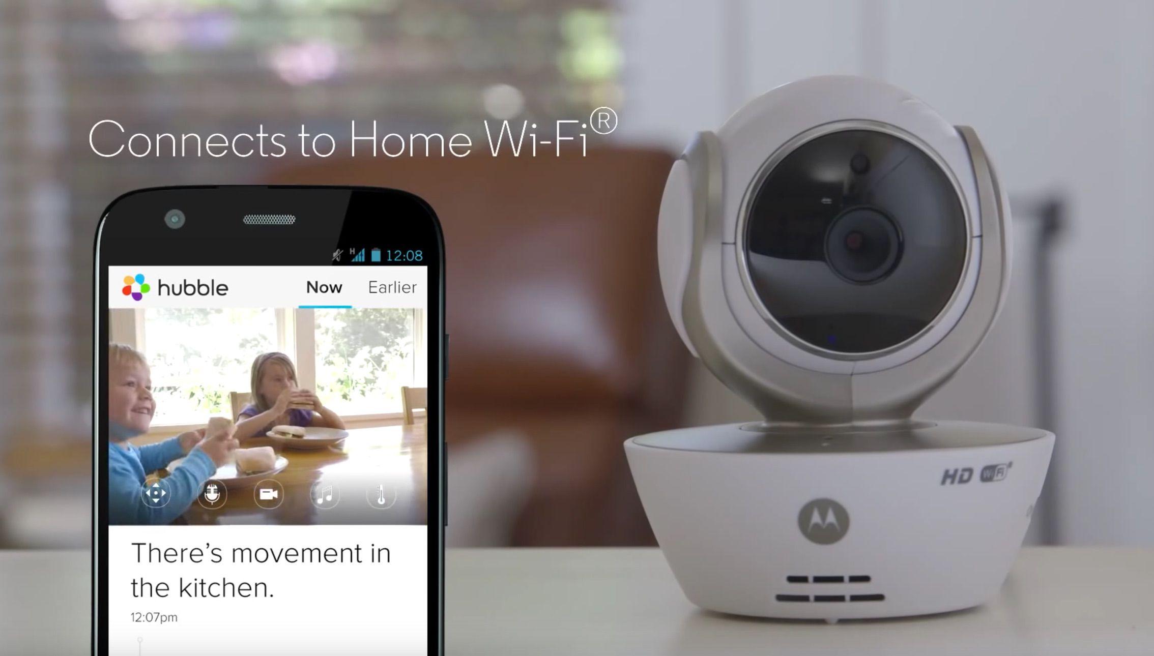 Caméra connectée Motorola MBP85   connection wifi