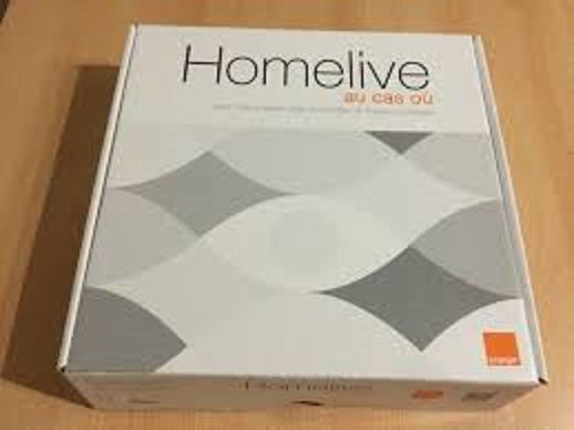 box domotique connectée Home live
