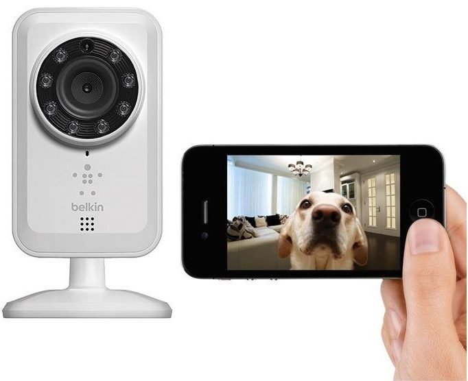 caméra connectée NetCam Wifi BELKIN