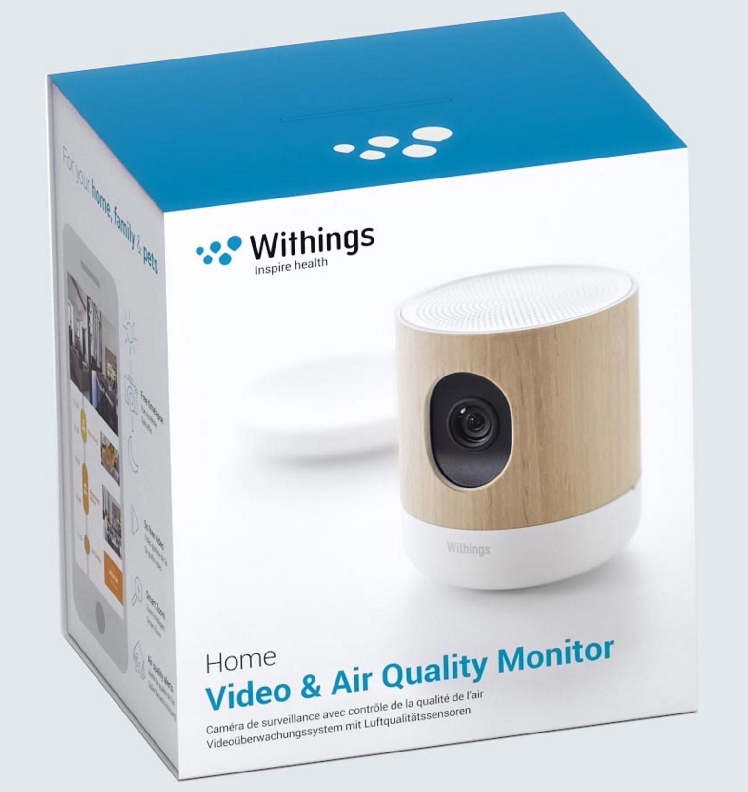 camera hd connectee Withings Home