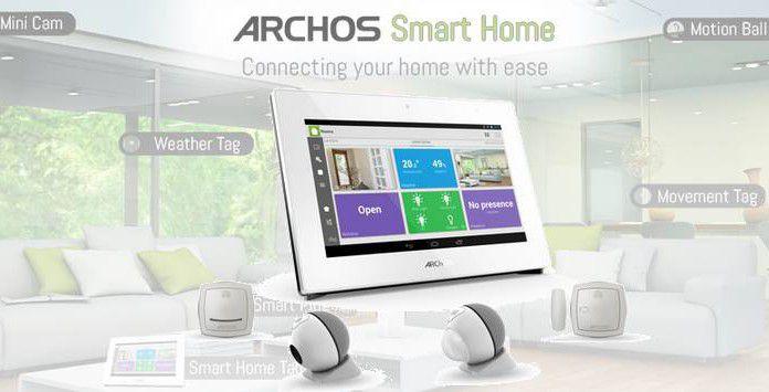 Box domotique connectée Archos Smart Home