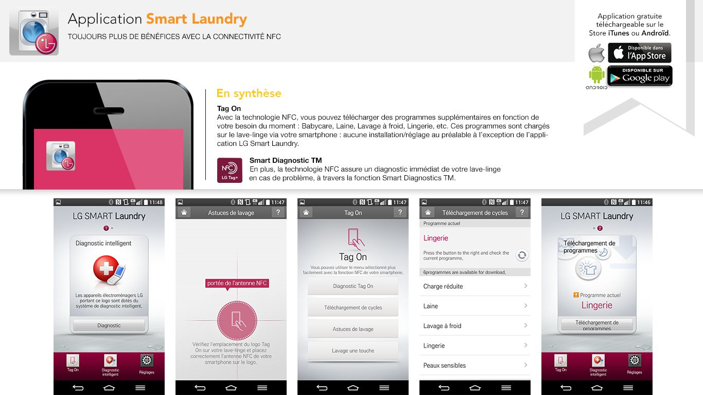 L'application SmartLaundry