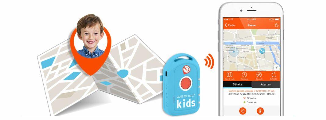 Traceur connecté GPS Weenect Kids