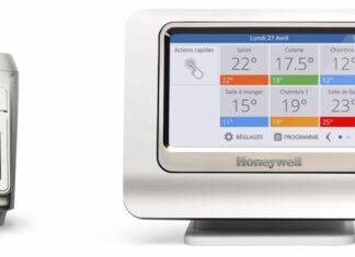 Thermostat honeywell-Pack de régulation connecté