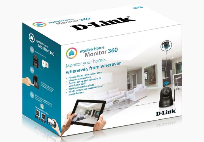 DCS 5010L mydlink camera connectee 360 | D-Link