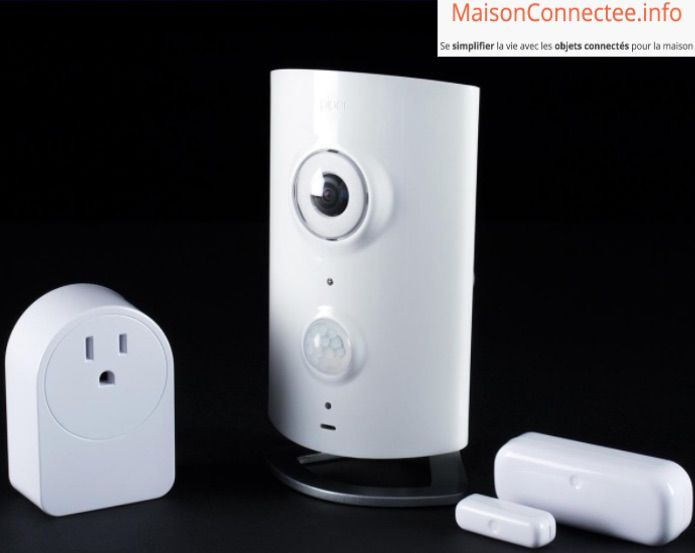 camera wifi piper classic zwave systeme domotique avec surveillance video