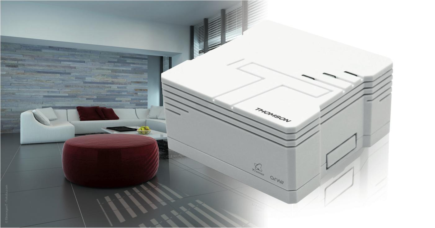 thomson box la box domotique connect e thombox de thomson. Black Bedroom Furniture Sets. Home Design Ideas
