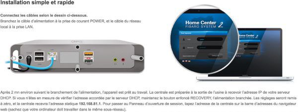 Home Center 2 | Fibaro - Z-Wave maison connectee- domotique fibaro
