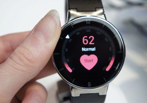 La montre connectee avec fonction pulsation cardiaque