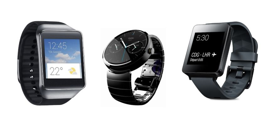 Montre connectee sous Android Wear