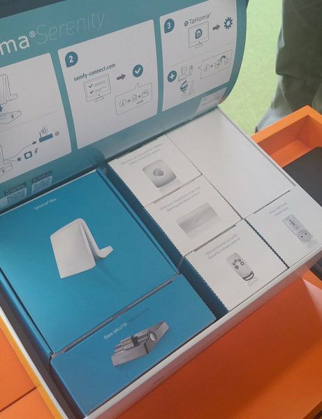 Somfy Pack box domotique connectée TaHoma Serenity