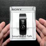 Bracelet Sony SWR30 Dans Son Emballage