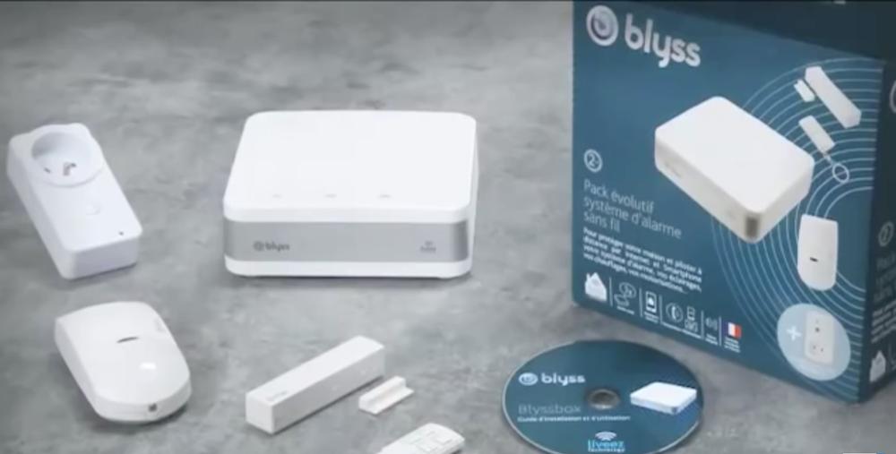 Packaging de la box domotique connectée Blyssbox