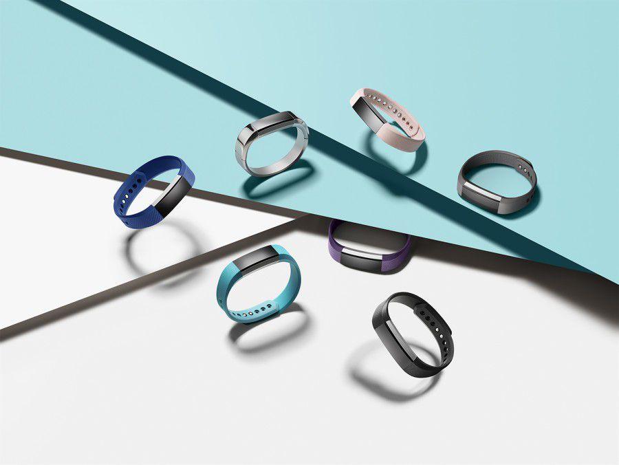 Le bracelet connecté Fitbit Alta dispose de plusieurs bracelets interchangeables-