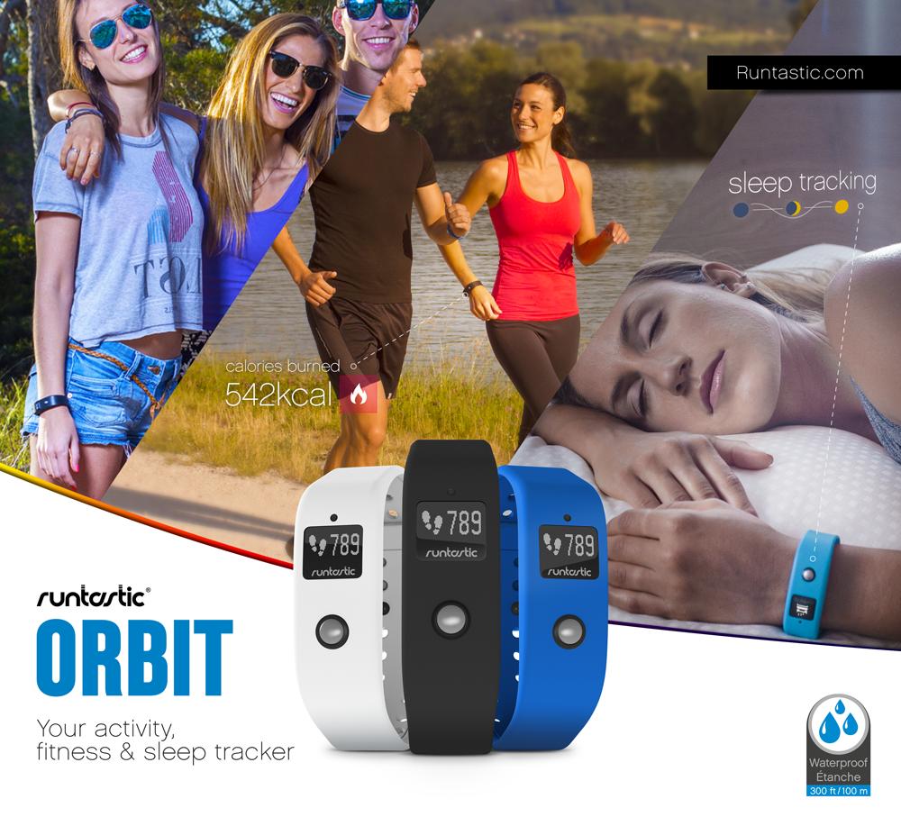 Runtastic Orbit, le bracelet connecté qui dévoile le potentiel inexploité en vous !