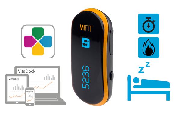 Quelques fonctionnalités du bracelet connecté ViFit Connect de Medisana