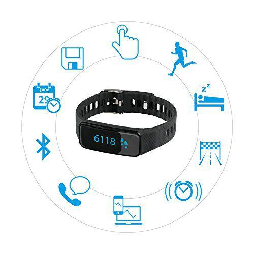 Les principales fonctions du bracelet connecté Medisana Vifit Touch