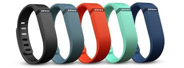 Le Fitbit Flex est disponible en plusieurs couleurs