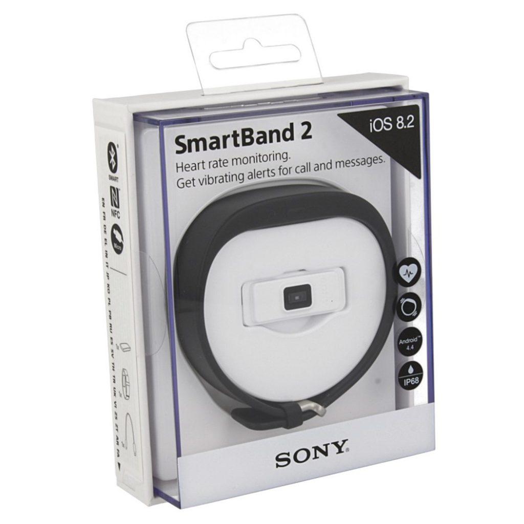 Pack Sony SmartBand 2 SWR12