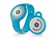 Bracelet connecté Withings GO bleu
