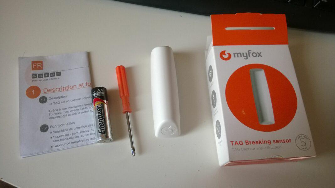 Myfox capteur anti-intrusion anti-effraction sécurise votre maison.