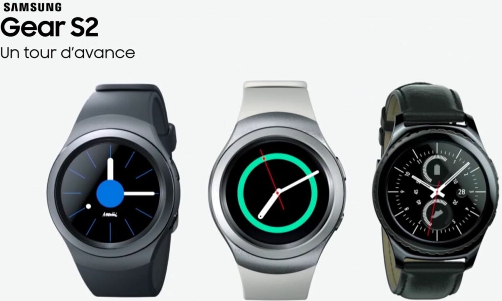 Samsung Gear S2 la montre connectee