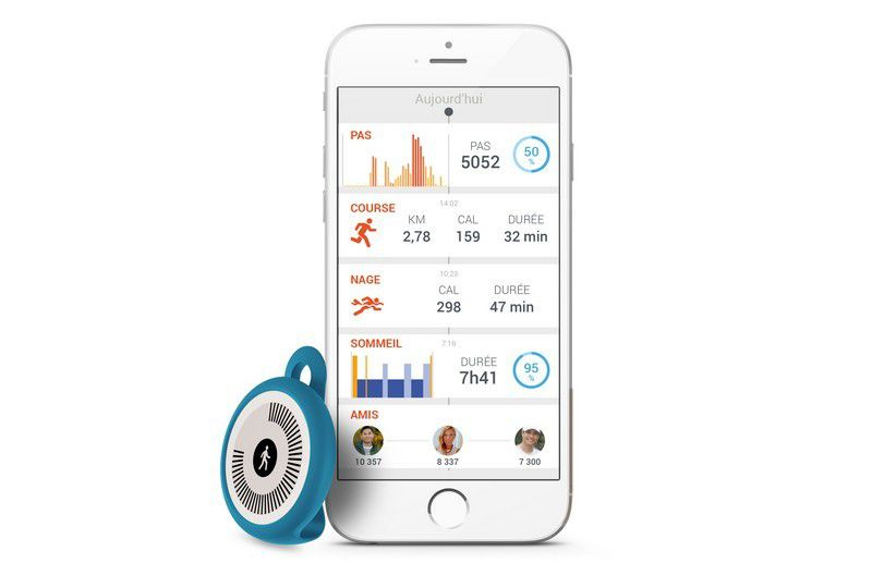 Bracelet connecté Withings GO pour Health Mate
