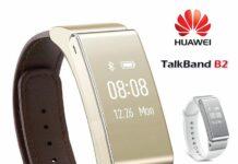 Bracelet connecté Huawei talkband B2