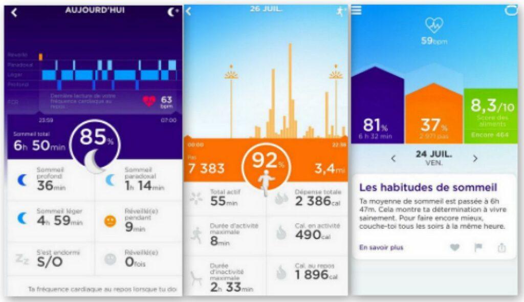 bracelet connecte Jawbone UP2- tracker d activite – Smart Coach pour la Sante