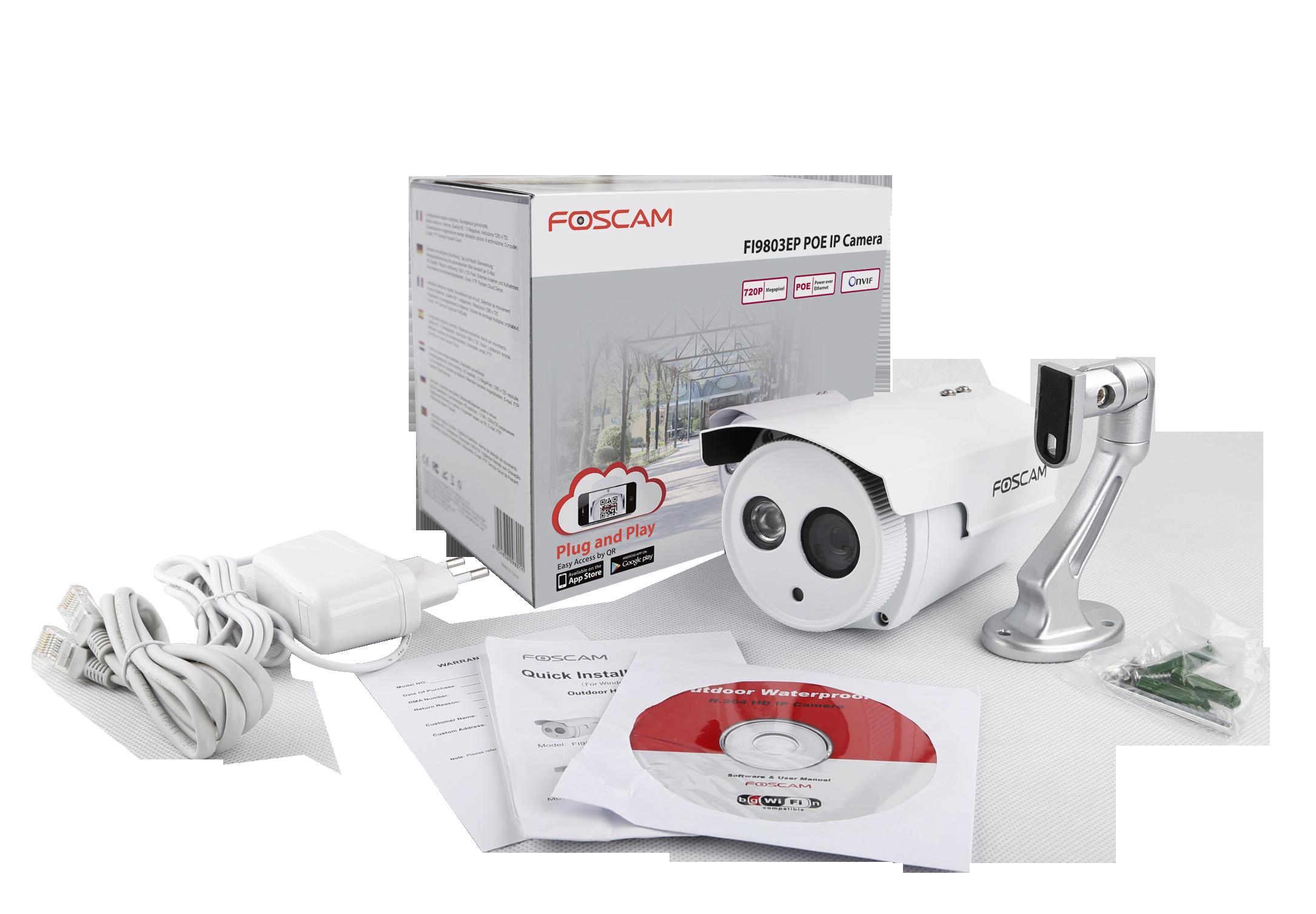caméra IP Foscam FI9803EP une camera ip d'extérieur